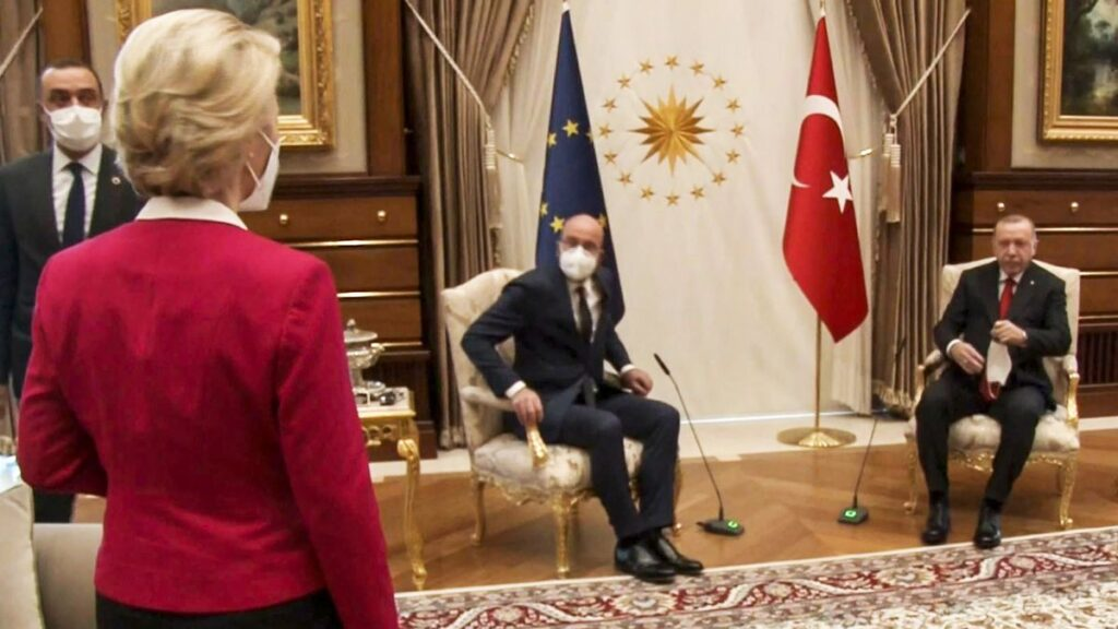 Michel And Leyen Will Discuss The Ankara Incident This Afternoon