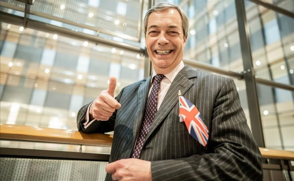 Nigel Farage Architect Of Brexit Retires From Politics