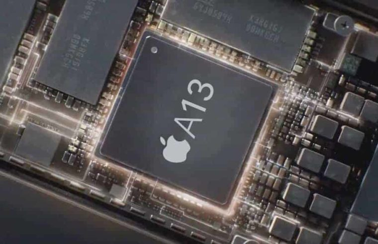 Apple working on it's Screen with it's own A13 chip.