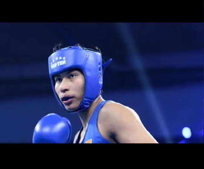 Lovlina Borgohain from India getting closer to get a medal in Tokyo Olympics.