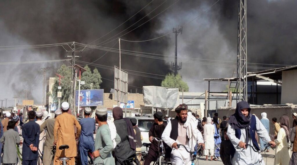 Afghanistan crisis increasing Day by Day: Fall, fearful, desperate people flying from Kabul airport in bid to flee Taliban Rule