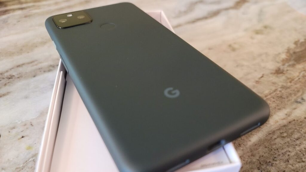 Google announced Pixel 5a 5G with IP67 and 4680mAh battery only in USA.