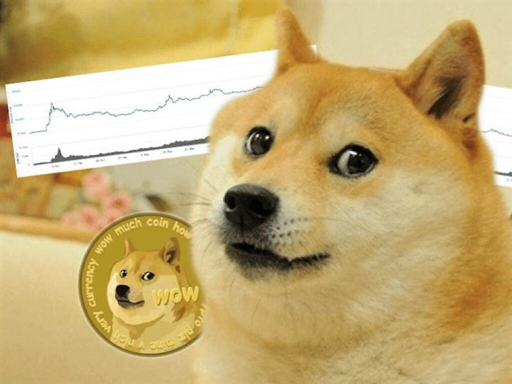 Shiba Inu and Doge coin took off to record highs.